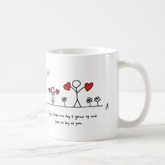 Amor tan grande como papá - de memoria y todos taza de café