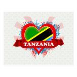 Amor Tanzania del vintage I Tarjetas Postales