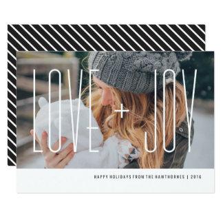 """Amor+Tarjeta del día de fiesta de la alegría - Invitación 5"""" X 7"""""""