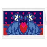 Amor-Tarjeta del perro de Ballou