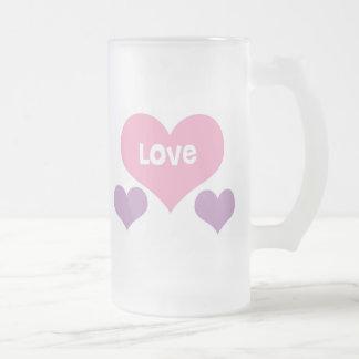 Amor Taza De Cristal