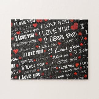 Amor te amo rompecabeza