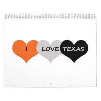 Amor Tejas Calendarios