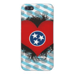 Amor Tennessee del vintage I iPhone 5 Protectores