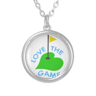 Amor The Game Colgante Redondo