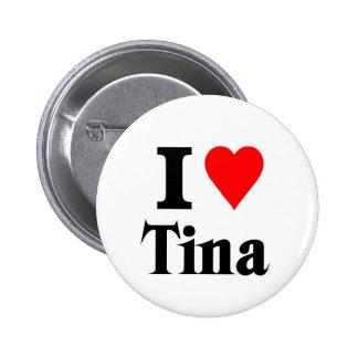Amor Tina Pin Redondo De 2 Pulgadas