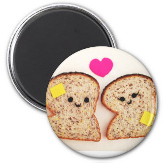 Amor Toasty Imán Redondo 5 Cm