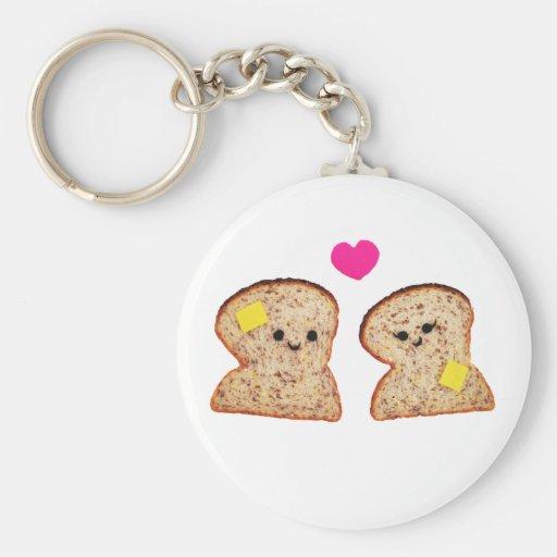 Amor Toasty Llavero Redondo Tipo Pin