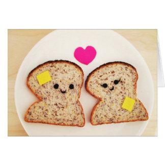 Amor Toasty Tarjetas