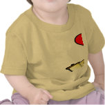 Amor Torah 2-Sided de la paz Camiseta