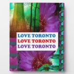 AMOR Toronto - la isla más vieja de la TORRE LIGER Placa De Madera