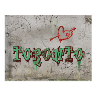 Amor Toronto Tarjeta Postal