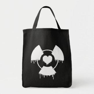 amor _toxic bolsa tela para la compra