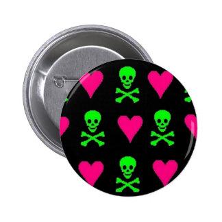 Amor tóxico pin redondo 5 cm
