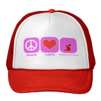 Amor Trinidad and Tobago de la paz Gorro
