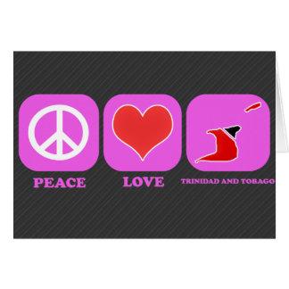 Amor Trinidad and Tobago de la paz Felicitaciones