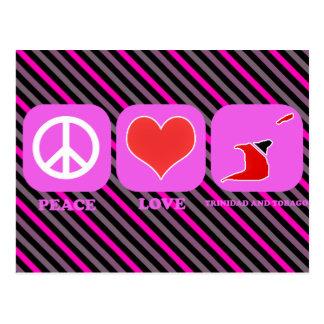 Amor Trinidad and Tobago de la paz Postal