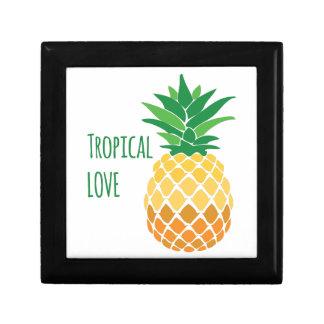 Amor tropical caja de regalo