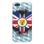 Amor Turks and Caicos Islands del vintage I iPhone 5 Coberturas