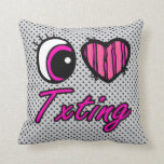 Amor Txting del corazón I del ojo de Emo