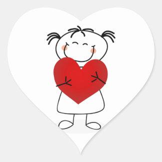 amor u de la momia i este mucho pegatinas de corazon