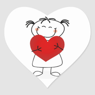 amor u de la momia i este mucho pegatina en forma de corazón