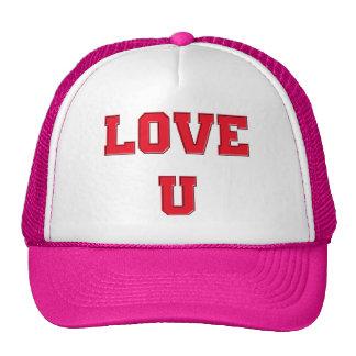 Amor U usted el día de San Valentín romántico del Gorro De Camionero