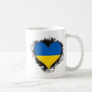Amor Ucrania del vintage I Taza De Café