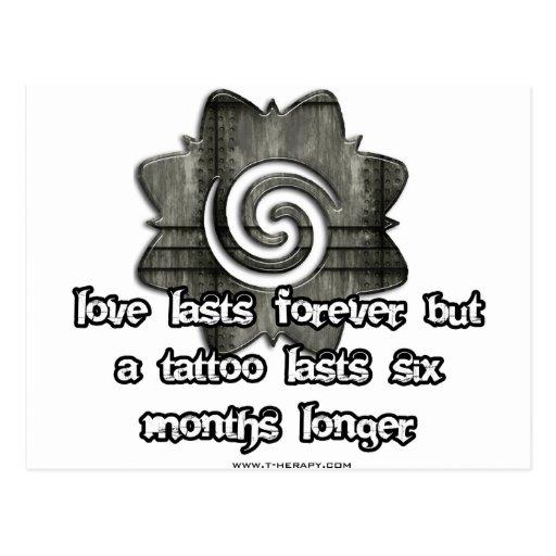 Amor-últimos-para siempre tarjeta postal
