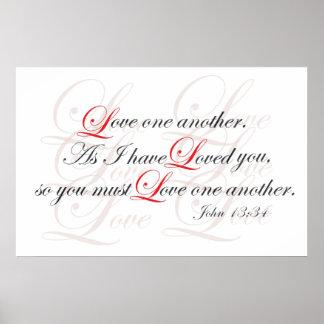 Amor uno otro impresiones