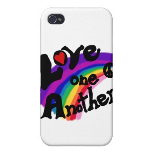 Amor uno otro y regalos iPhone 4 carcasa