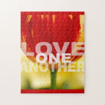 Amor uno otros tulipanes rompecabezas
