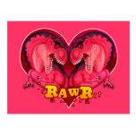 Amor-uno-saurus de Rawr Postal