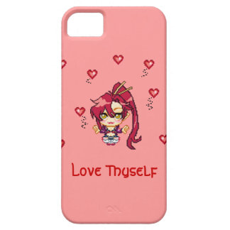 Amor usted mismo funda para iPhone 5 barely there