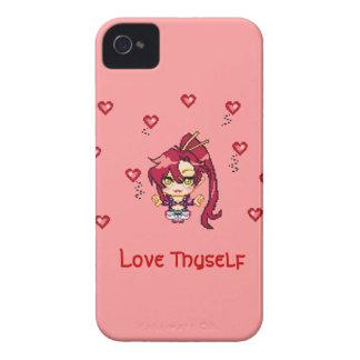 Amor usted mismo iPhone 4 cárcasa