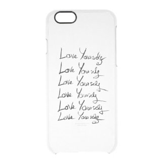¡Amor usted mismo! Funda Clearly™ Deflector Para iPhone 6 De Uncommon