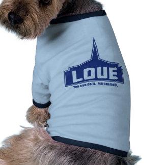 Amor: Usted puede hacerlo Camiseta Con Mangas Para Perro