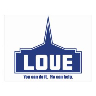 Amor: Usted puede hacerlo Tarjetas Postales