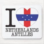 Amor v2 de Antillas holandesas Alfombrillas De Ratón