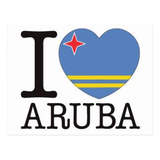 Amor v2 de Aruba Tarjetas Postales