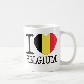 Amor v2 de Bélgica Taza De Café