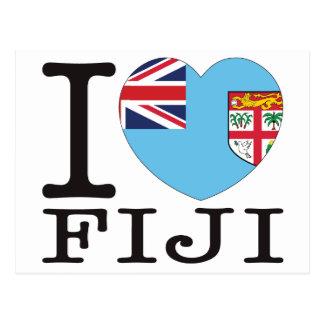 Amor v2 de Fiji Tarjetas Postales