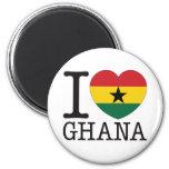 Amor v2 de Ghana Imán De Nevera