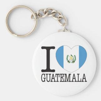 Amor v2 de Guatemala Llavero Personalizado