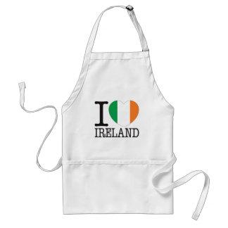 Amor v2 de Irlanda Delantal