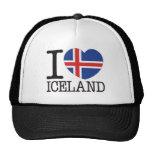 Amor v2 de Islandia Gorro De Camionero