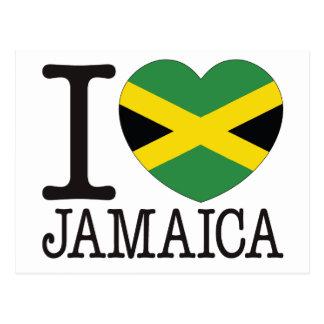 Amor v2 de Jamaica Tarjeta Postal