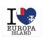 Amor v2 de la isla de Europa Postal