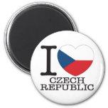 Amor v2 de la República Checa Imán Para Frigorifico