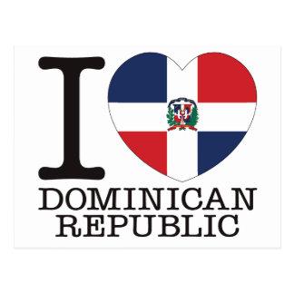 Amor v2 de la República Dominicana Postales